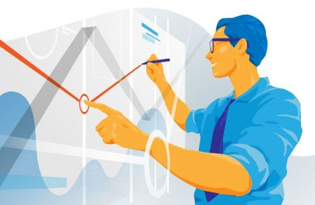 Como usar as linhas de tendência para negociar retrações na ExpertOption?