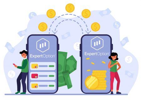 Como depositar dinheiro no ExpertOption