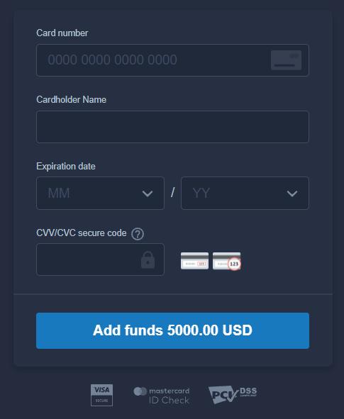 Como fazer login e depositar dinheiro no ExpertOption